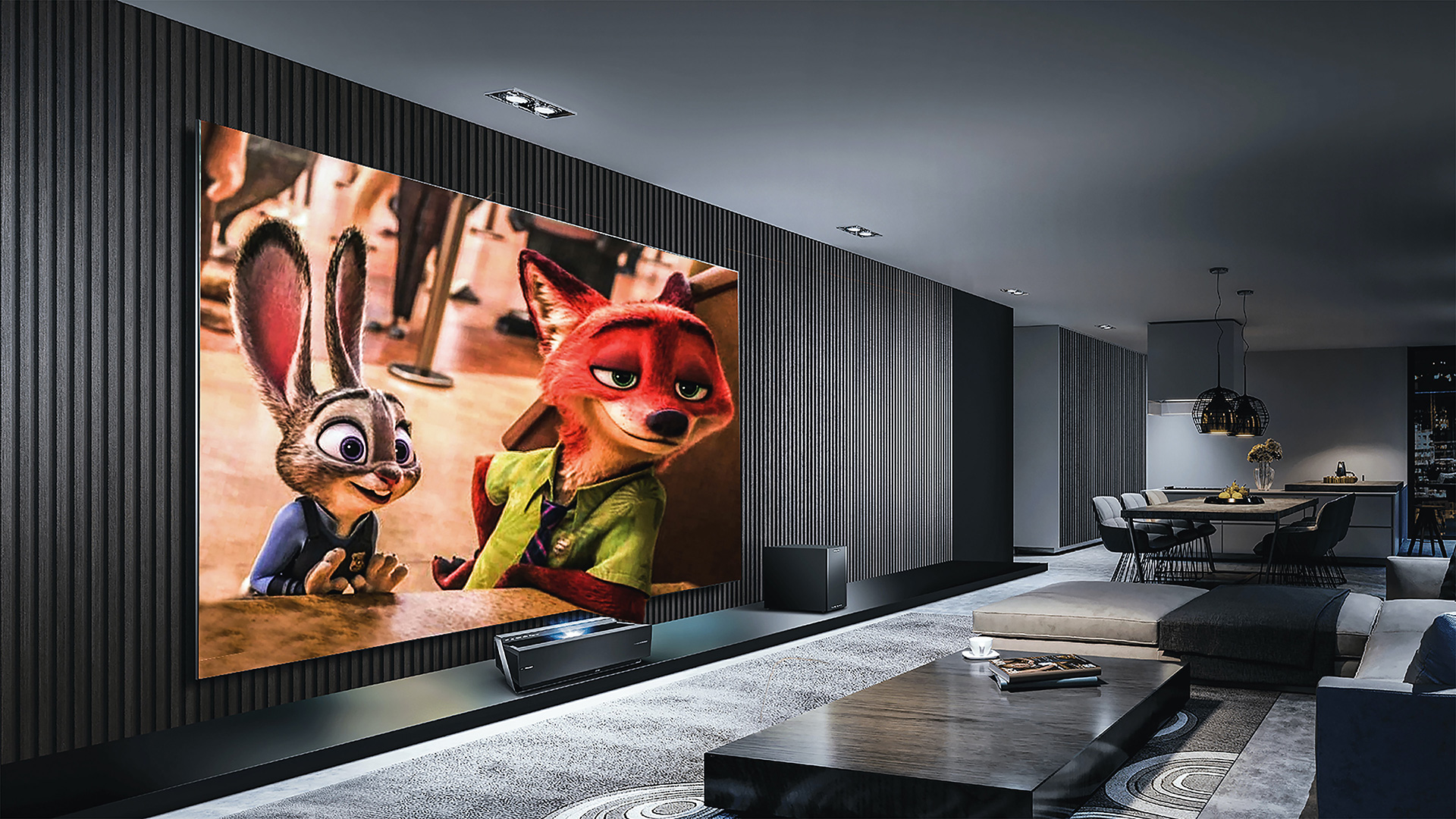 How much does a home theater cost in Los Angeles